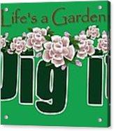 Dig It Acrylic Print by Greg Long