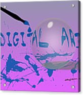 Digital Art Acrylic Print