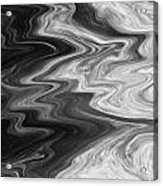Digital Cloud Abstract Acrylic Print