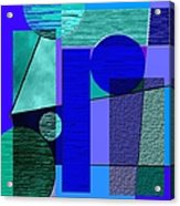 Digital Design 292 Acrylic Print