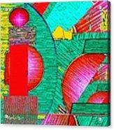 Digital Design 431 Acrylic Print