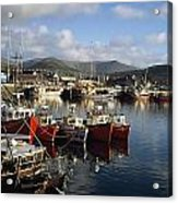 Dingle, Co Kerry, Ireland Boats In A Acrylic Print
