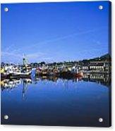 Dingle Harbour, Dingle, Co Kerry Acrylic Print