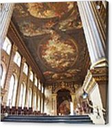 Dining Hall At Royal Naval College Acrylic Print