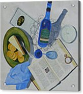 Dining On Words At Al's Cafe Acrylic Print