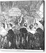 Dinner Party, 1885 Acrylic Print