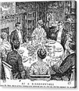 Dinner Party, 1915 Acrylic Print