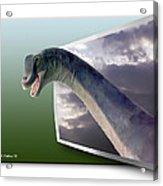 Dinosaur - Oof Acrylic Print