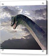 Dinosaur Sky Acrylic Print