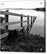 Disappearing Fence. Acrylic Print
