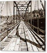 Discarded Bridges Acrylic Print