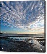 Discovery Park Beach Sunset Acrylic Print