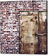 Dismal At Best - Rusty And Crusty Acrylic Print