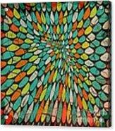 Disperse Acrylic Print by Ankeeta Bansal