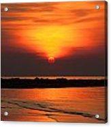 Distant Sun Acrylic Print