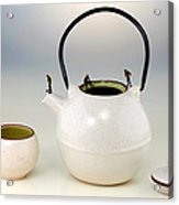 Diving On Tea Pot And Cup Acrylic Print