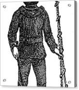 Diving Suit, 1855 Acrylic Print