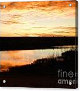 Dixon Reservoir Sunrise Acrylic Print