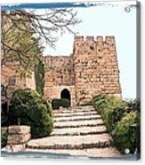 Do-00483 Byblos Citadel Acrylic Print
