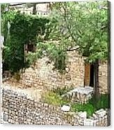 Do-00486 Old House From Citadel Acrylic Print