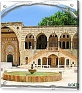 Do-00522 Emir Bechir Palace Acrylic Print
