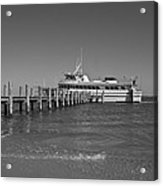 Docking For A Moment Acrylic Print