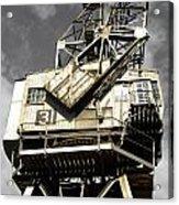 Dockside Crane Acrylic Print