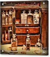 Doctor - The Medicine Cabinet Acrylic Print
