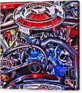 Dodge Motor Hdr Acrylic Print