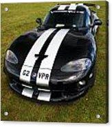 Dodge Viper Acrylic Print