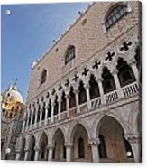 Doges Palace Off Piazza San Marco Or Acrylic Print