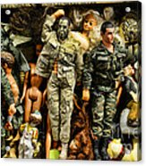 Doll - Gi Joe In Camo Acrylic Print