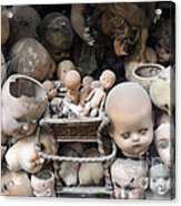Doll Parts Acrylic Print by Ed Rooney