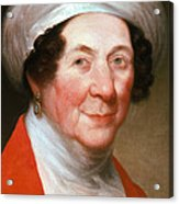 Dolley Madison Acrylic Print by Photo Researchers