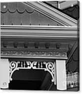 Dollhouse Black And White Acrylic Print