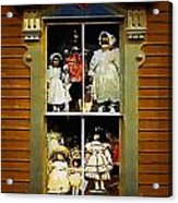 Dollhouse Gothic Acrylic Print