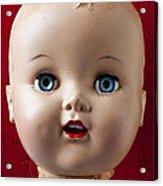 Dolls Haed Acrylic Print