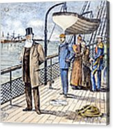 Dom Pedro II (1825-1891) Acrylic Print