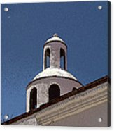 Dome And Cloud Mineral De Pozos Mexico Acrylic Print