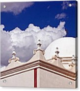 Dome Of The Mission San Xavier Acrylic Print