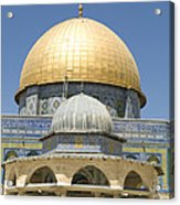 Dome Of The Rock Was Erected Acrylic Print