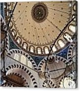Domed Roof Of Rustem Pasa Mosque Acrylic Print