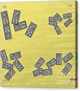 Domino Clusters Acrylic Print