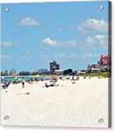 Don Cesar Resort And Pass-a-grille Beach Acrylic Print