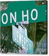 Don Ho Street Acrylic Print