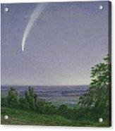 Donati's Comet - Oxford Acrylic Print