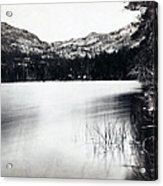 Donner Lake And Pass - California - C 1865 Acrylic Print