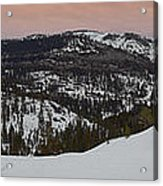 Donner Panoramic Acrylic Print