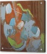 Dont Fret Acrylic Print by Jay Manne-Crusoe