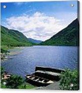 Doo Lough, Delphi, Co Mayo, Ireland Acrylic Print